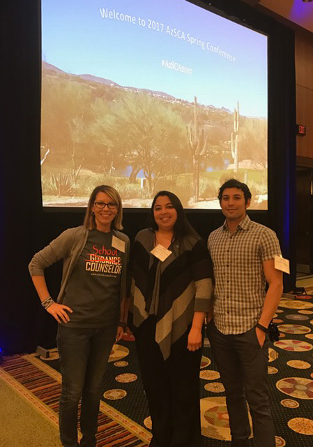 Tucson Unified Counselors at Conference
