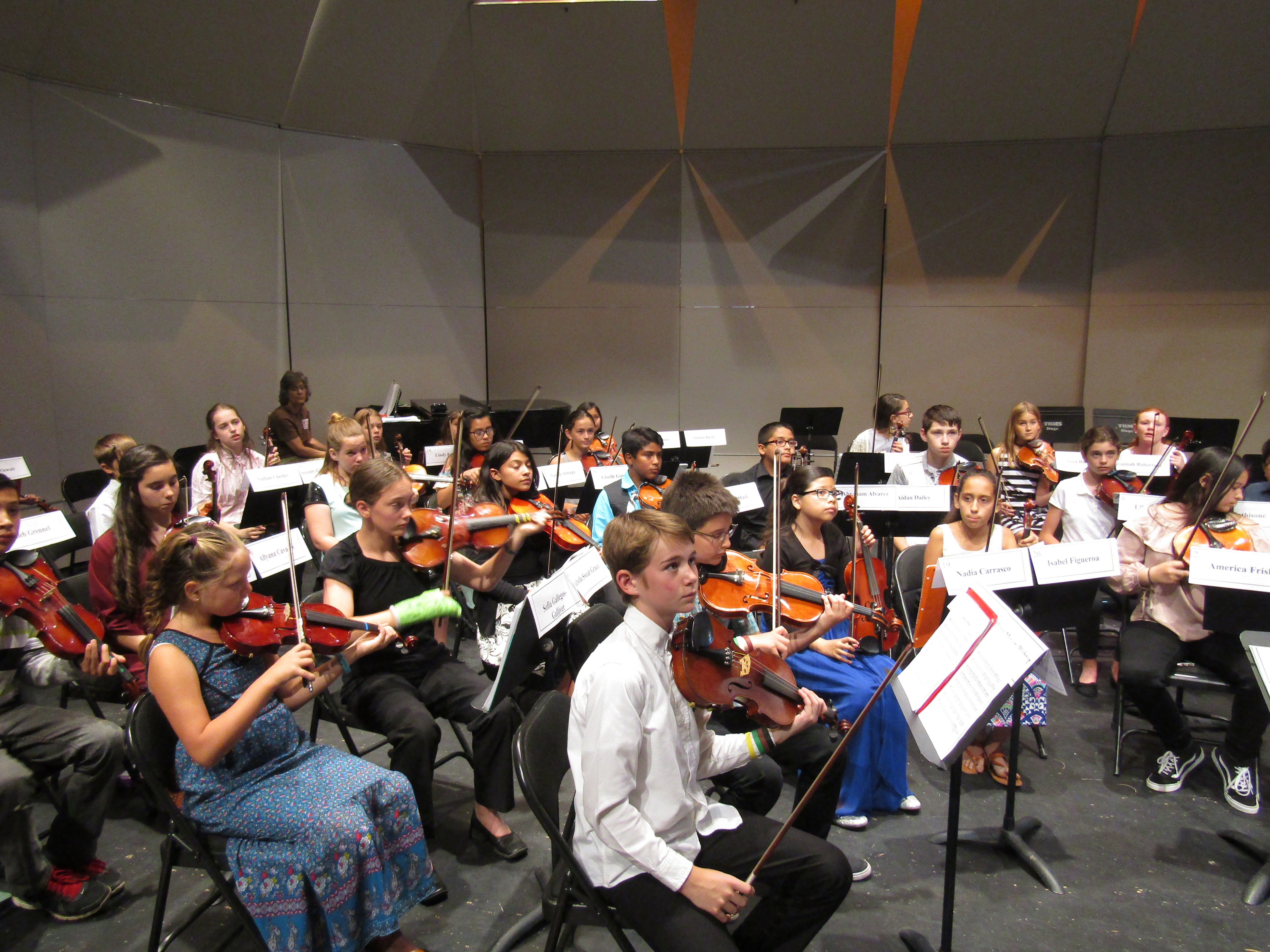 Tucson Unified 5th and 6th Grade Honor Orchestra