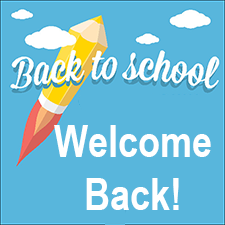 Back to School - Welcome back!