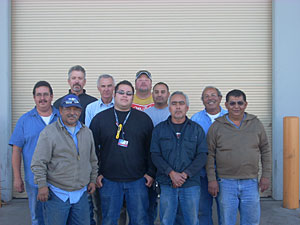Photo of HVAC staff