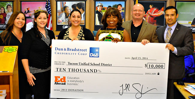 Photo of Presentation of Check.