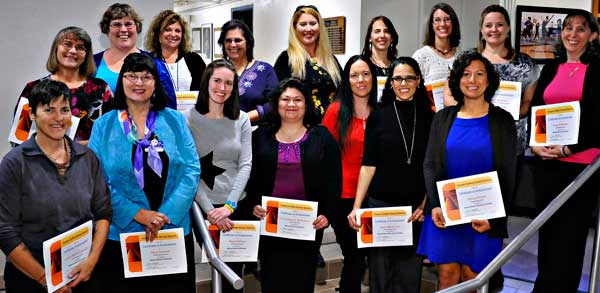 Photo of TUSD's newest NBCTs