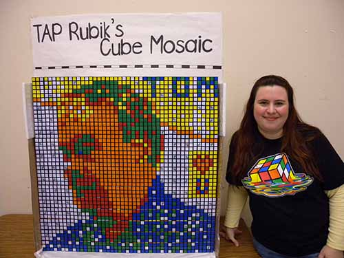 Photo of Rubik's cube