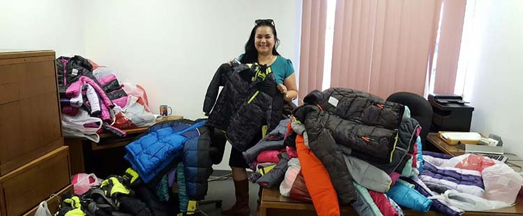 Photo of jackets for students