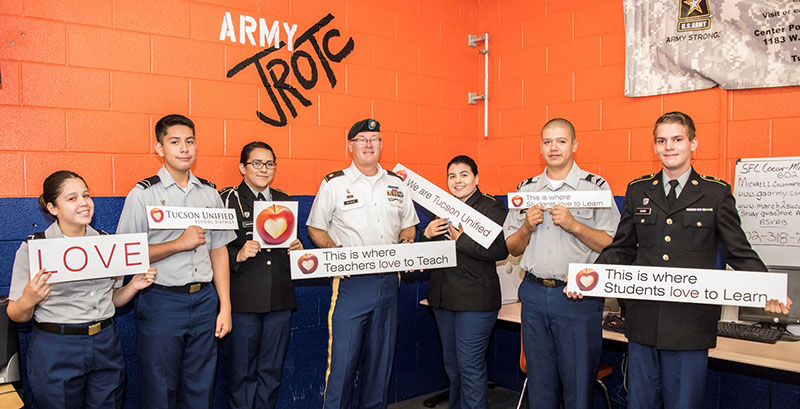 Photo of Cholla JROTC
