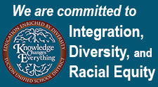 We are committed to integration, diversity and racial equity.