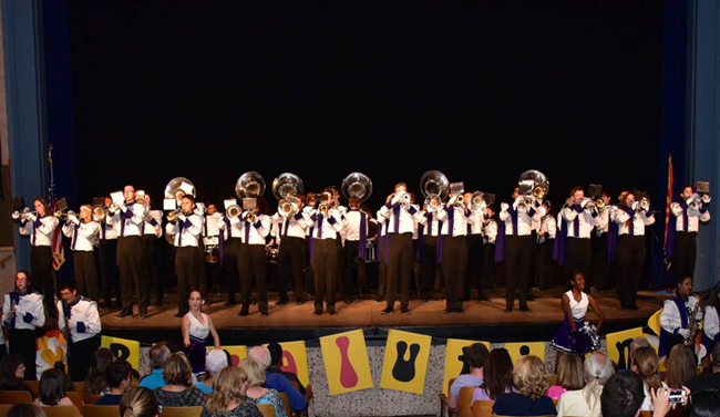 Photo of Rincon/University High School Marching Band