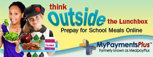 think outside the lunchbox, prepay for school meals online. MyPaymentsPlus (formerly known as MealplayPlus)