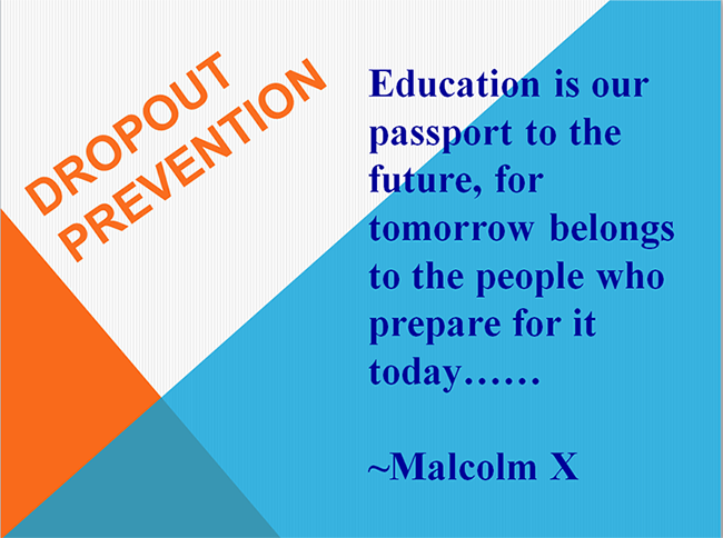 Education is our passport to the future, for tomorrow belongs to the people who prepare for it today. - Malcolm X